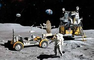 NASA: Apollo 17 Last J-Mission CSM, Lunar Module & Lunar Rover (Kit) (Re-Issue) DML11015