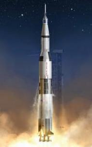 DML/Dragon Models  1/72 Apollo 11 Saturn V Kit - Pre-Order Item DML11017