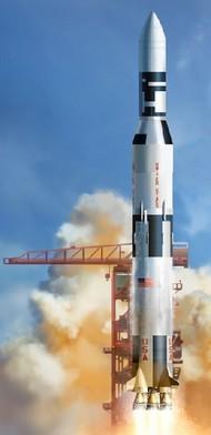 DML/Dragon Models  1/72 NASA Saturn V Rocket w/Skylab (Kit) DML11021
