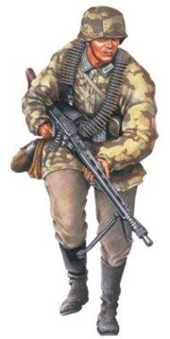 DML/Dragon Models  1/16 SS MG42 Gunner Normandy DML1611