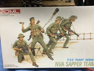 DML/Dragon Models  1/35 Sapper Team NVA (4) - Pre-Order Item DML3308