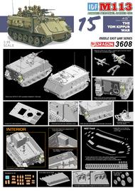 DML/Dragon Models  1/35 IDF Zelda M-113 Armored Personnel Carrier Yom Kippur War 1973 DML3608