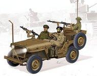 DML/Dragon Models  1/35 IDF 1/4-Ton 4x4 Truck w/MG34 Machine Guns DML3609