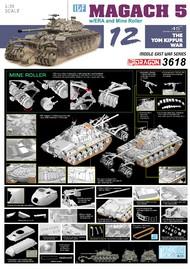 DML/Dragon Models  1/35 IDF Magach 5 w/ ERA and Mine Roller DML3618