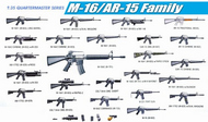 DML/Dragon Models  1/35 M-16/AR-15 Family DML3801