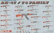 DML/Dragon Models  1/35 Weapons AK-47/74 Part 1 DML3802