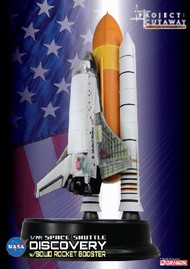 DML/Dragon Models  1/144 Visible Space Shuttle Discovery Cutaway w/Solid Rocket Booster (prepainted & partially assembled)- Net Pricing DML47403