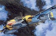 DML/Dragon Models  1/48 Collection - Messerschmitt Bf.110D-3 Heavy Fighter Bomber DML5555