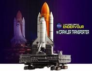 DML/Dragon Models  1/400 NASA: Space Shuttle Endeavour w/Crawler Transporter (Assembled Die Cast) DML56393