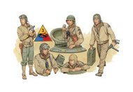 DML/Dragon Models  1/35 US Tank Crew Europe '44 - Pre-Order Item DML6054