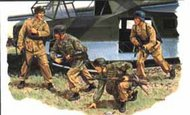 DML/Dragon Models  1/35 Gran Sasso Raid German Paratroop Glider Soldiers- Net Pricing DML6094