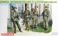DML/Dragon Models  1/35 SS-Grenadiers, SS-Pz Gren. Rgt. 25 - Pre-Order Item DML6110