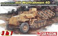 DML/Dragon Models  1/35 Sd. Kfz. 251 Ausf. C (3 in 1) - Flammgranate/ Sprengranate/ PAK 36 DML6284