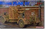 DML/Dragon Models  1/35 88mm Flak 37 (3 in 1) w/BONUS features DML6287