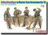 DML/Dragon Models  1/35 Fallschirmjager 8cm Gr.W.42 Motar Team- Net Pricing DML6373