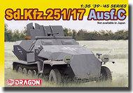 DML/Dragon Models  1/35 German Half-track Sd.Kfz.251/17 Ausf.C DML6395