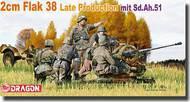 DML/Dragon Models  1/35 2cm Flak 38 Late Production mit Sd.Ah.51  DML6546