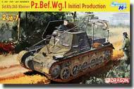 DML/Dragon Models  1/35 Sd.Kfz.265 Kleiner Pz.Bef.Wg.I Initial Production - Smart Kit (2 in 1)- Net Pricing DML6597