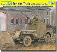 DML/Dragon Models  1/35 1/4 Ton Armored 4x4 Truck w/ .50-cal Machine Gun - Smart Kit DML6714