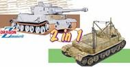 PzKpffw VI(P)/Bergepanzer Tiger (P) Tank (2 in 1) #DML6869