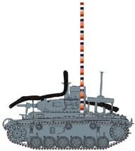 Tauchpanzer Pz.Kpfw. III 3.7cm (T) Ausf F Diving Tank w/Combat Cameramen Operation Sea Lion #DML6877