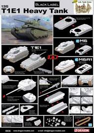 T1E1 Heavy Tank (3 in 1) #DML6936