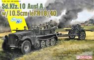 Sd.Kfz.10 Ausf.A with 10.5cm leFH18/40 #DML6939