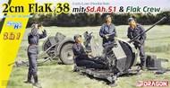 2cm Flak 38 mit Sd.Ah.51 & Flak Crew #DML6942