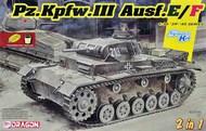 Pz.Kpfw. III Ausf E/F Tank (2 in 1) #DML6944