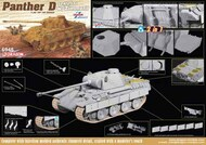 Sd.Kfz.171 Panther D with Zimmerit 2in1 #DML6945