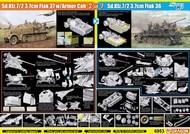 Sd.Kfz.7/2 3.7cm Flak 37 with Armor Cab or Sd.Kfz.7/2 3.7cm Flak 36 (2in1) #DML6953