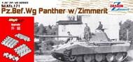 SdKfz 171 PzBefWg Panther Tank w/Zimmerit - Pre-Order Item* #DML6965