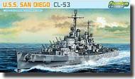 DML/Dragon Models  1/700 U.S.S. San Diego, Altanta Class Cruiser - Premium Edition Kit DML7052