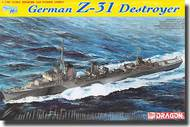DML/Dragon Models  1/700 German Z-31 Destroyer - Smart Kit- Net Pricing DML7126
