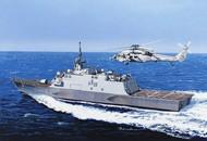 DML/Dragon Models  1/700 USS Fort Worth LCS3 Littoral Combat Ship DML7129
