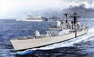 DML/Dragon Models  1/700 HMS Sheffield Type 42 Batch 1 Destroyer 30th Anniv Falklands War (2 in 1) DML7133