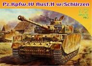 PzKpfw IV Ausf H Tank w/Side-Skirt Armor #DML7497