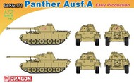 DML/Dragon Models  1/72 Sd.Kfz 171 Panther A Early Tank- Net Pricing DML7499