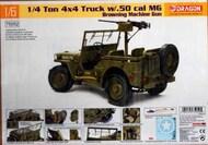 DML/Dragon Models  1/6 US 1/4-ton 4x4 Truck with M2 .50-cal Machine Gun DML75052