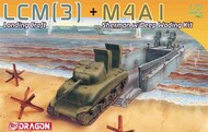 DML/Dragon Models  1/72 LCM(3) Landing Craft and M4A1 Sherman w/Deep Wading DML7516