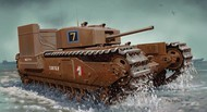 DML/Dragon Models  1/72 Churchill Mk III Tank w/Deep Wading Kit- Net Pricing DML7520