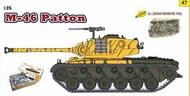 M-46 Patton Tank w/G.I. Pusan Perimeter Crew 1950 (Re-Issue) #DML9147