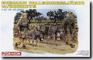 DML/Dragon Models  1/35 German Fallschmjager w/ Donkeys - Pre-Order Item DML6077