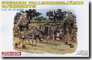 DML/Dragon Models  1/35 German Fallschmjager w/ Donkeys DML6077