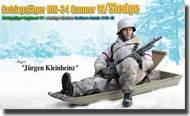 DML/Dragon Action Figures  1/6 Jurgen Kleinheinz (Jager) - Gebirgsjager MG-34 Gunner w/Sledge, Gebirgsjager-Regiment 99- Net Pricing DRF70476