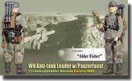 DML/Dragon Action Figures  1/6 Alder Fishe (Grenadier) - WH Anti-Tank Loader w/Panzerfaust 257. Volksgrenadier-Division, Bavaria 1945 - Gear Plus Series DRF70756