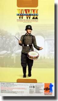 DML/Dragon Action Figures  1/6 Tomas Schlagmannn (Musikschutze) Wehrmacht-Heer Bandman  (DX10)- Net Pricing DRF70793