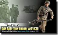 """DML/Dragon Action Figures  1/6 """"Rudolf Kierst"""" (Schutze) - DAK Anti-Tank Gunner w/PzB39, 90.Leichte Afrika-Division DRF70820"""
