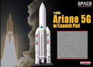 Dragon Wings  1/400 Ariane 5G W/launch pad- Net Pricing DRW56230