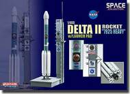 "Dragon Wings  1/400 Delta II Rocket ""7925 Heavy"" w/Launch Pad (Space DRW56339"
